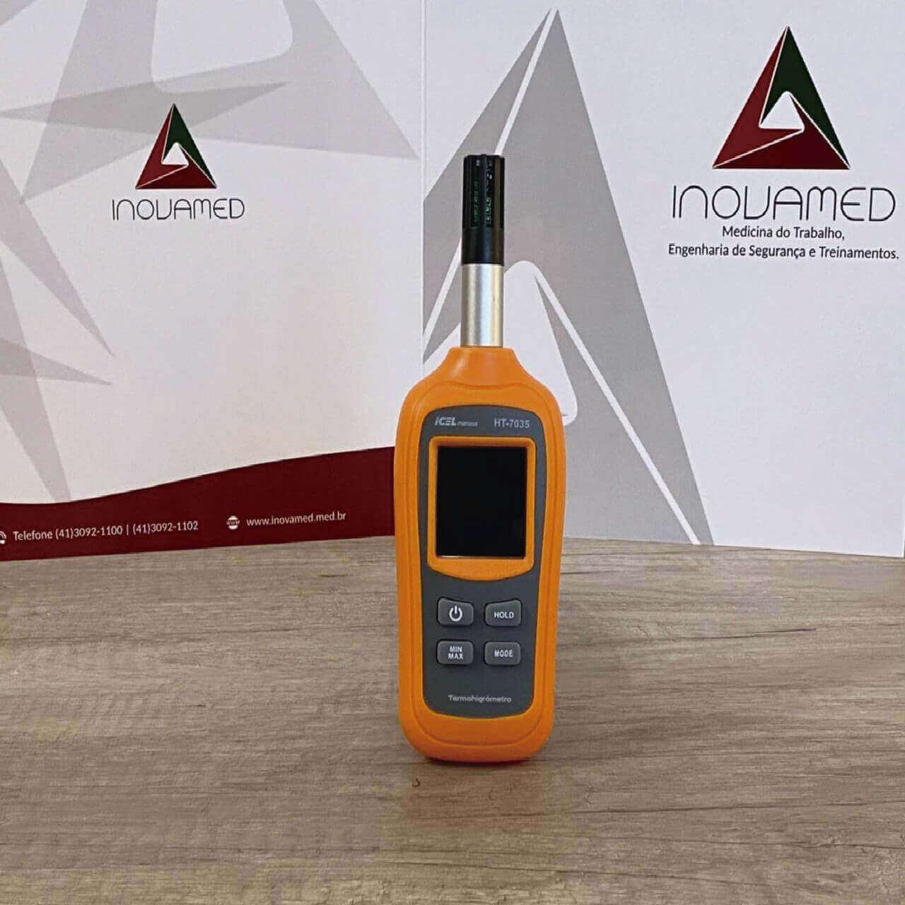 Termo-Higrômetro Digital Ht-7035 Icel